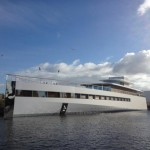 Steve Jobs' yacht completed