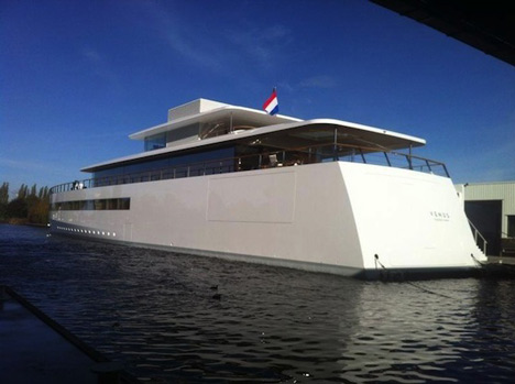 Steve Jobsu0027 Yacht Completed
