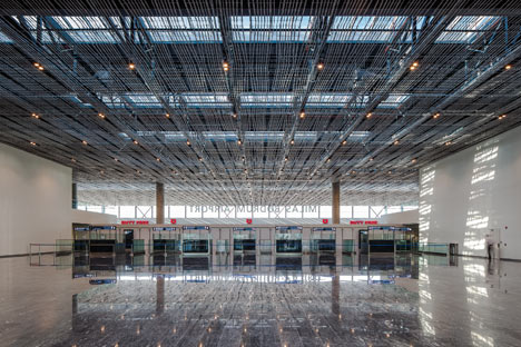 Bodrum International Airport by Tabanlioglu Architects