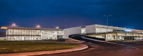 Bodrum International Airport by Tabanlioglu Architects