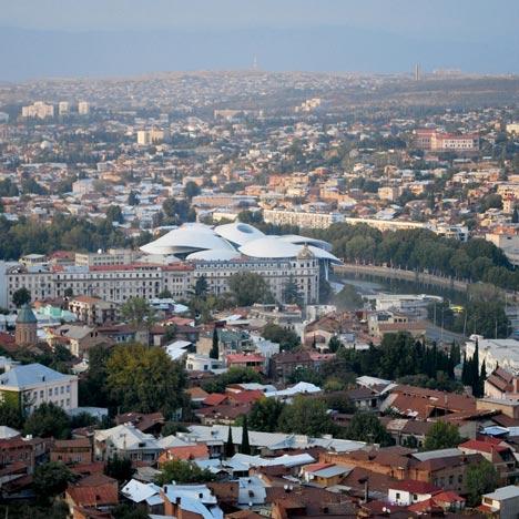 Tbilisi Public Service Hall by Fuksas