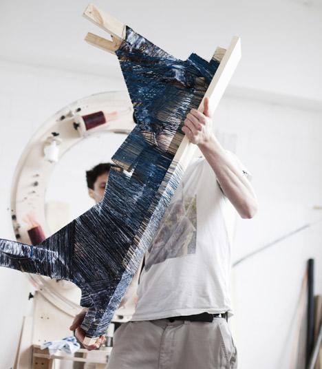 The Thread Wrapping Machine by Anton Alvarez