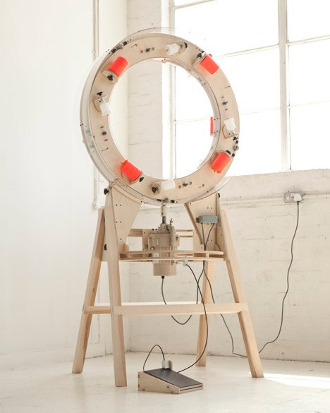 The Thread Wrapping Machine by Anton Alvarez