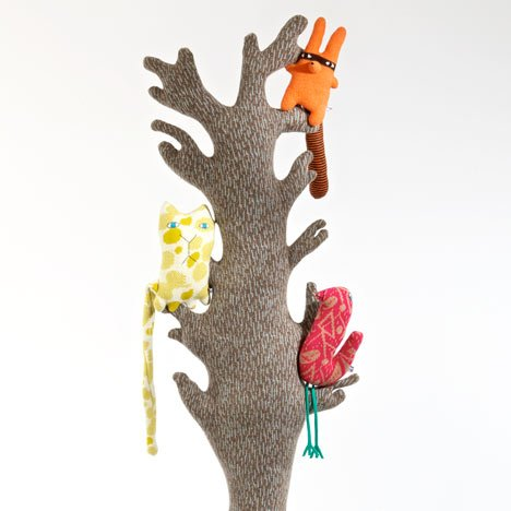 Donna Wilson on her knitted tree and creatures for the Stepney Green Design Collection