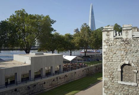 Tower Wharf Cafe by Tony Fretton Architects