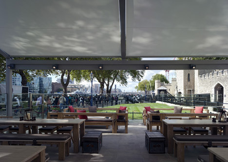 Tower Wharf Cafe by Tony Fretton Architects