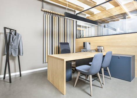 Zapata y Herrera lawyers' office by Masquespacio