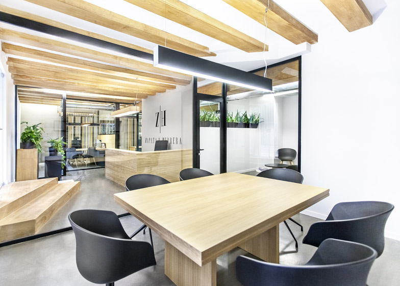 zapata y herras lawyers fice small interior design firms nyc Dezeen Magazine