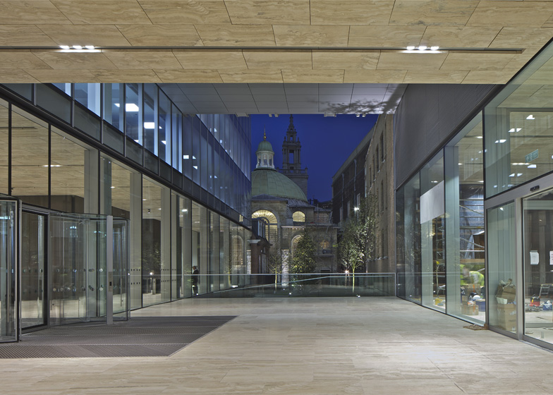 New Court, London by OMA with Allies and Morrison