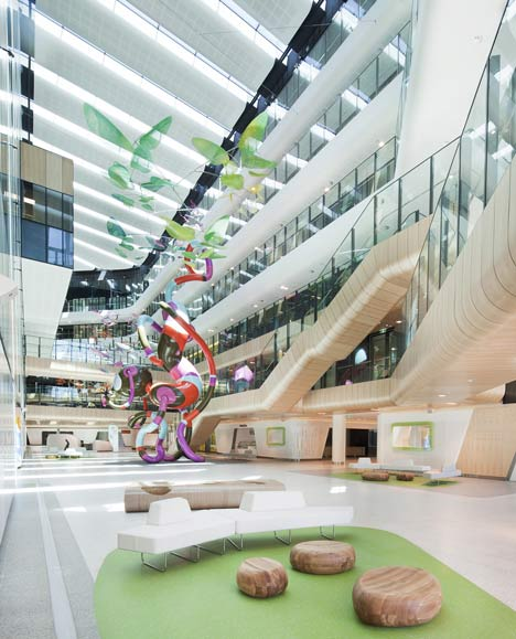 The Royal Children's Hospital by Billard Leece Partnership and Bates Smart