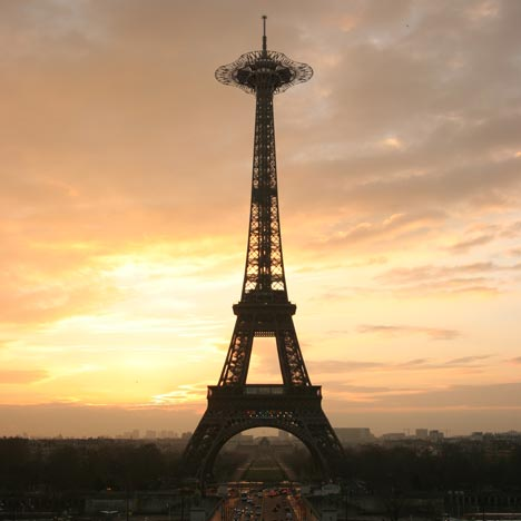 Dezeen Book of Ideas: Eiffel DNA by Serero Architects