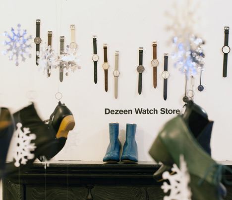 Dezeen Watch Store at Tracey Neuls