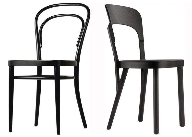 107 Chair by Robert Stadler for Thonet