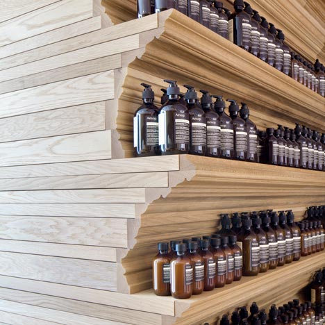 Aesop Newbury Street, Boston, by William O'Brien Jr