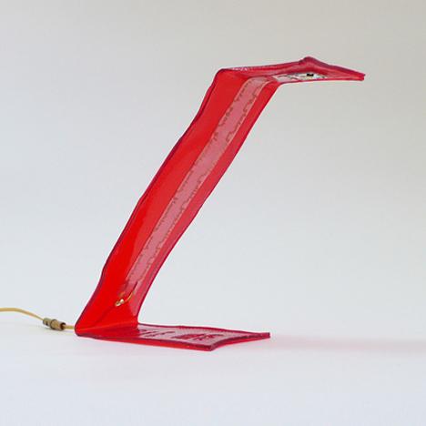 Bite Me edible desk lamp by Victor Vetterlein