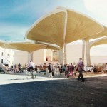 Casablanca Sustainable Market Square by TomDavid Architecten