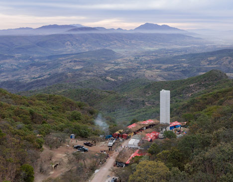 Cerro del Obispo Lookout Point by Christ & Gantenbein