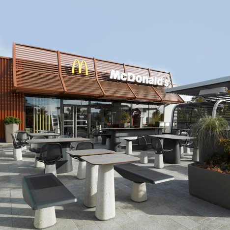 Côme by Patrick Norguet and Alias for McDonald's
