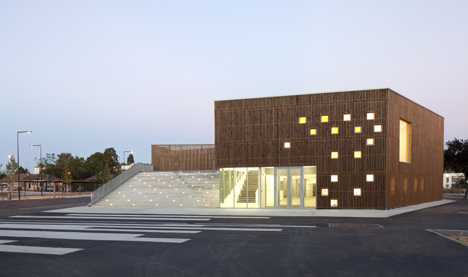 Cultural Centre In Nevers By Ateliers O S Architectes