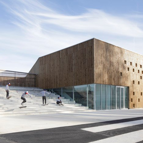Cultural Centre in Nevers<br /> by Ateliers O-S Architectes