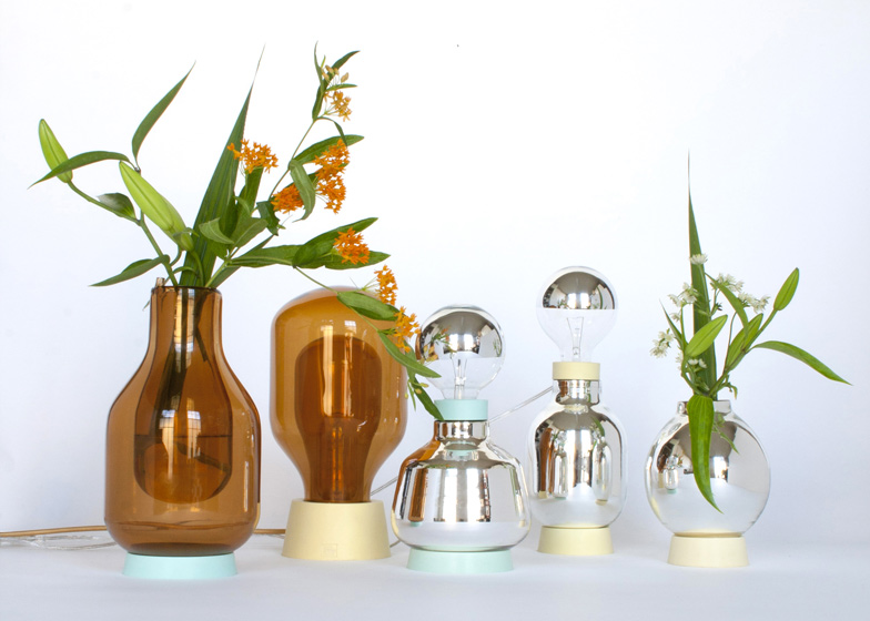 Dewar Glassware Vases And Lamps By David Derksen