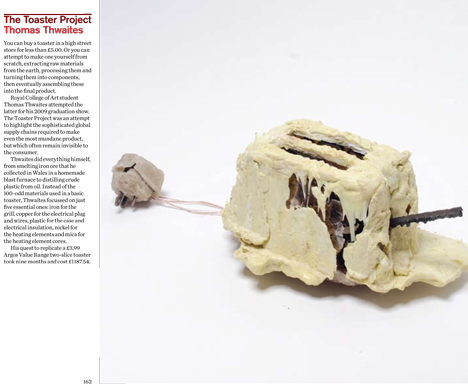 Dezeen Book of Ideas The Toaster Project by Thomas Thwaites