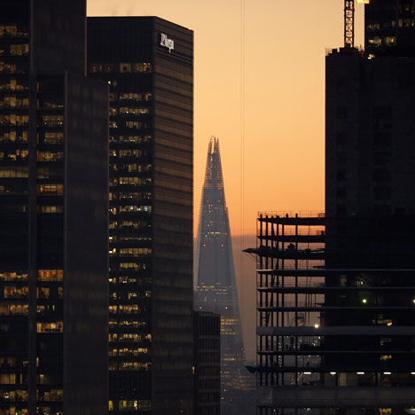 Distant Shard View from the East by Edmund Sumner