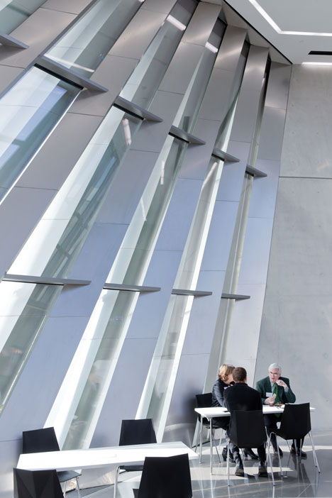Eli and Edythe Broad Art Museum by Zaha Hadid