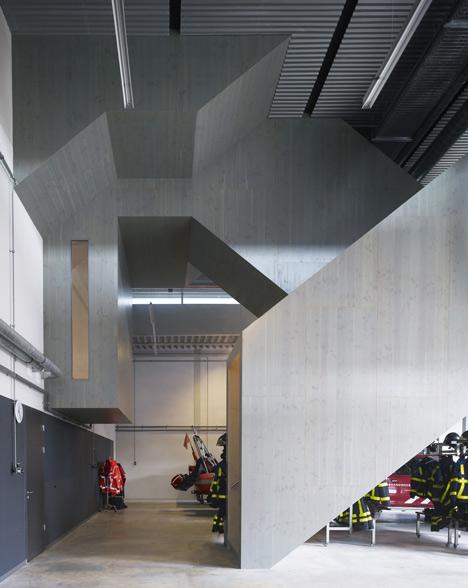 Fire Station by Rene van Zuuk