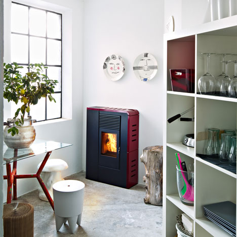 Flat, Flair, Philo, and Tube stoves by MCZ