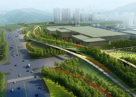 Futian District Masterplan In Shenzhen By Swa Group