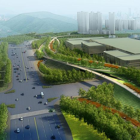 Futian District masterplan by SWA Group