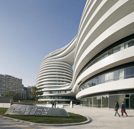 Galaxy Soho by Zaha Hadid Architects