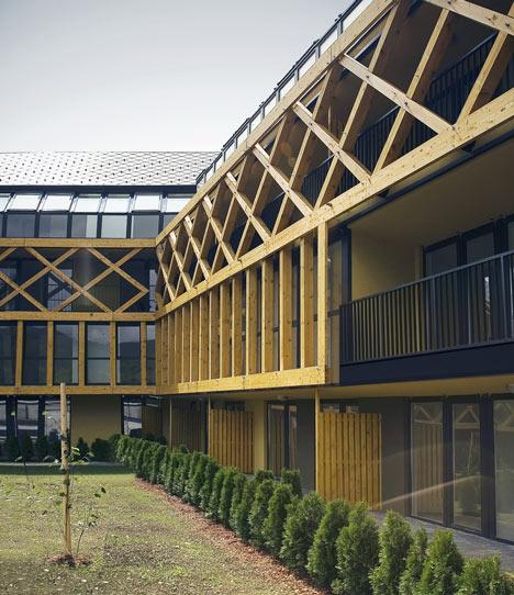 Hayrack Apartments by OFIS Arhitekti