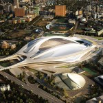 Zaha Hadid's Tokyo Olympic stadium to be scaled back