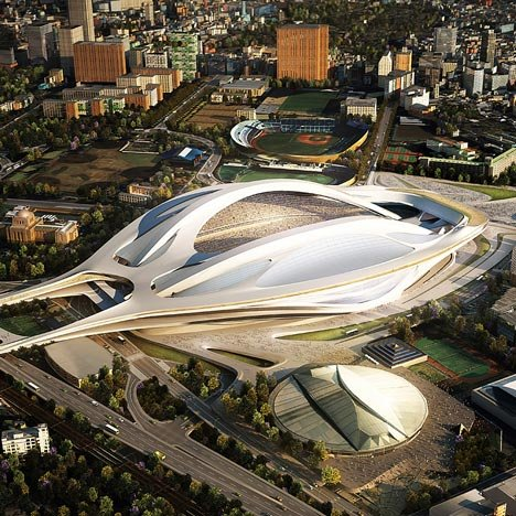 dezeen_Japan National Stadium by Zaha Hadid Architects_1sq