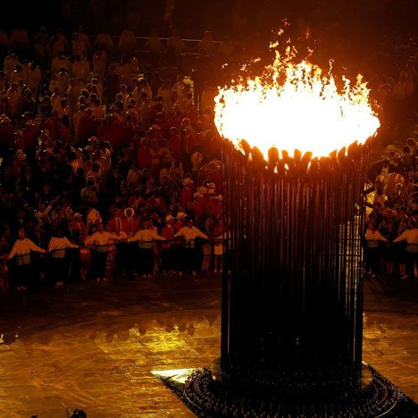 London 2012 Olympic Cauldron by Thomas Heatherwick