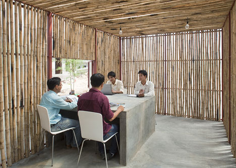 Low Cost House by Vo Trong Nghia