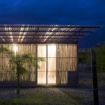 Low Cost House by Vo Trong Nghia Architects