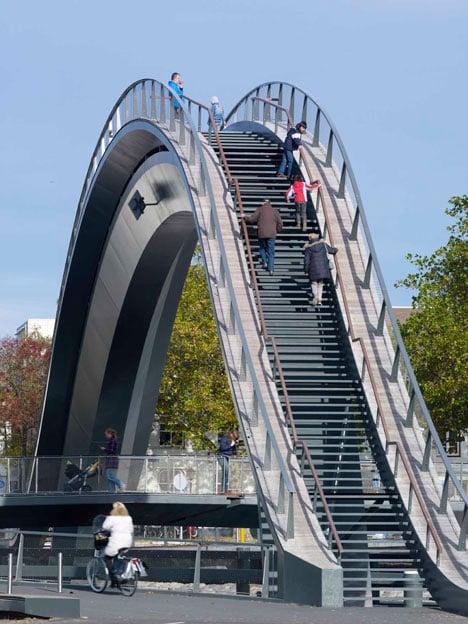 Melkwegbridge by NEXT Architects and Rietveld Landscape