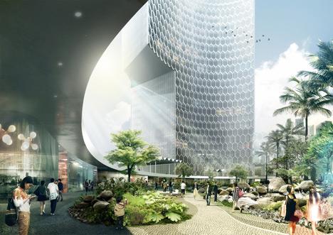 DUO in Singapore by Ole Scheeren
