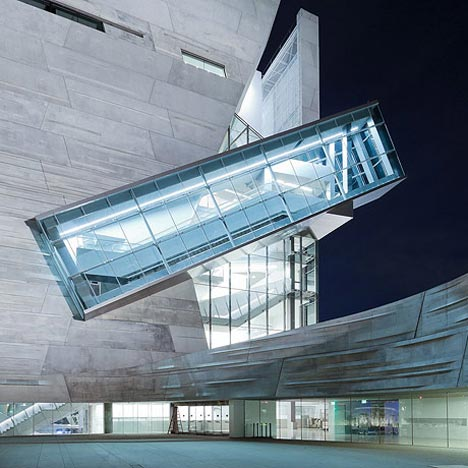 Perot Museum of Nature And Science Morphosis Dezeen Perot Museum of Nature