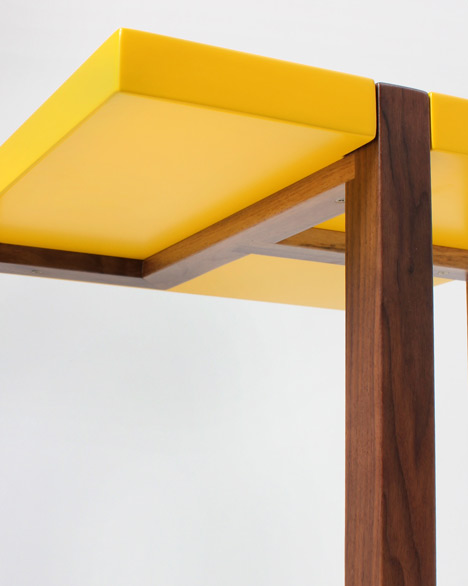 """Making a moderist table in an """"old artisanal way"""" - Hugo Passos"""