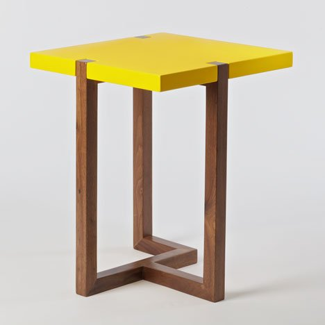 """It's nice to make a modernist table in an old artisanal way"" - Hugo Passos"