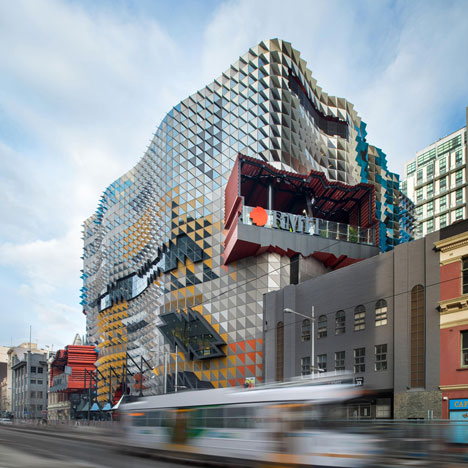 RMIT Swanston Academic Building by Lyons