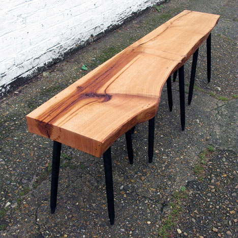 Roger Arquer on his benches for the Stepney Green Design Collection