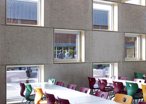 Salmtal Secondary School Canteen by SpreierTrenner Architekten