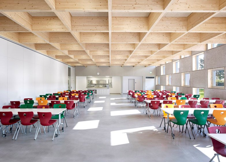canteen design catersales interior design classes london Dezeen Magazine