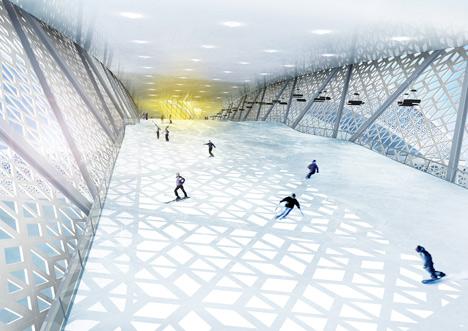 Skidome Denmark by CEBRA