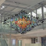 Strand installation by Stuart Haygarth